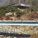 서초구 우면산 송동마을 우면천 보도교량